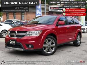 2012 Dodge Journey R/T Rallye 7 PASS! ACCIDENT FREE! ONE OWNER!
