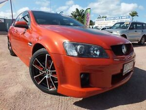 2006 Holden Commodore VE SS V Orange 6 Speed Manual Sedan Rosslea Townsville City Preview