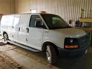 2008 GMC Savana Cargo/Work Van w/ CCTV Sewer Inspection System