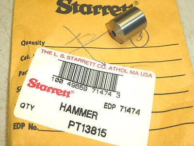 New Starrett Replacement Hammer For 18c Automatic Center Punch Edp 71474