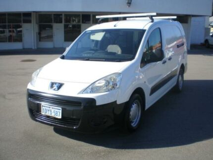 2012 Peugeot Partner B9P 1.6 HDI White 5 Speed Manual Van