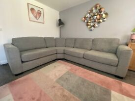 Elora Fabric Corner Sofa
