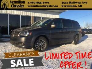 2017 Dodge Grand Caravan GT, DVD, NAV, Leather
