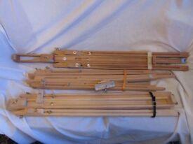 x3 Wooden Art Easels