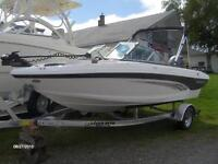 New 2014 Rinker 186 Captiva Fish & Ski Outboard Package