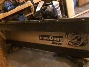 HD75 Snowdogg Plow (mount and wiring for 2012 F250)
