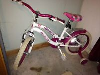 Girls bicycle age 3-5 years