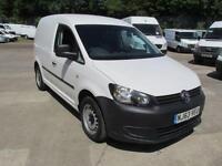 Volkswagen Caddy C20 1.6 Tdi 75Ps Startline Van DIESEL MANUAL WHITE (2013)