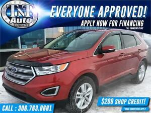 2015 Ford Edge SEL AWD-LOW KM-BACK UP CAM-POWER SEATS-APPLY NOW!