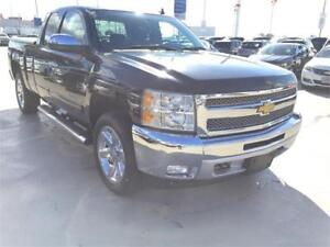 2012 Chevrolet Silverado 1500 LT EXT CAB (ONLY 93,000 KMS) BLACK