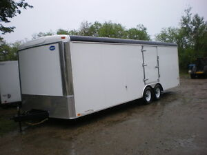 Automan Trailers has Enclosed Car, Quad or Sled Trailers