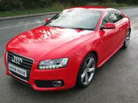 Audi A5 2.0 TFSI ( 211ps ) S Line 2010 Quattro SE. Audi FSH. Automatic. Petrol
