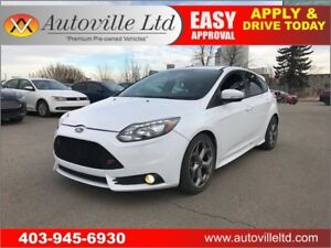 2014 Ford Focus ST LEATHER, SUNROOF, MANUAL, TURBO!!!
