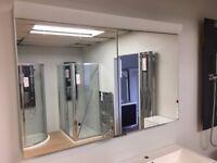 Ex-display Schneider illuminated mirror cabinet
