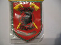 Huron Village MIDLAND Ontario Souvenir Canada Patch Sew Indian