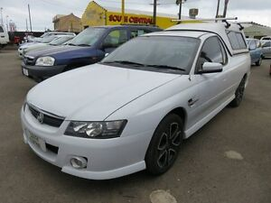 2005 Holden Commodore VZ SS White 4 Speed Auto Active Select Utility Reynella Morphett Vale Area Preview
