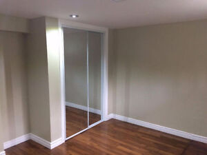 Two renovated room in four room basement apartment