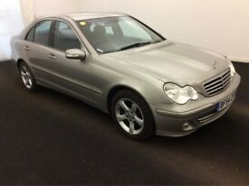 2005 MERCEDES-BENZ C CLASS C220 CDI AUTOMATIC DIESEL EXECUTIVE,1 OWNER-FUL SERVICE HISTORY
