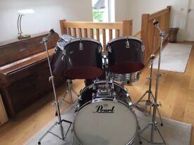 VINTAGE 1970's PEARL Full Dimension Drum Kit