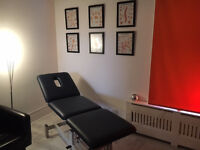 Treatment room to rent - CCTV, all bills, professional couch all included with large client list