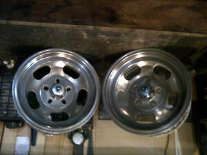 Cragar 15 x 7 Slotted Aluminum rims