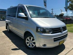 2010 Volkswagen Multivan T5 MY10 Comfortline DSG Silver 7 Speed Sports Automatic Dual Clutch Wagon Mulgrave Hawkesbury Area Preview