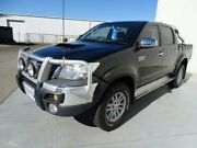 2012 Toyota Hilux KUN26R MY12 SR5 Double Cab Black 5 Speed Manual Utility Canning Vale Canning Area Preview