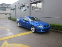2005 Ford Falcon BA Mk II XR6 Turbo Ute Super Cab Blue 4 Speed Automatic Utility Westcourt Cairns City Preview
