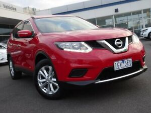 2016 Nissan X-Trail T32 ST X-tronic 2WD Red 7 Speed Constant Variable Wagon Strathmore Heights Moonee Valley Preview