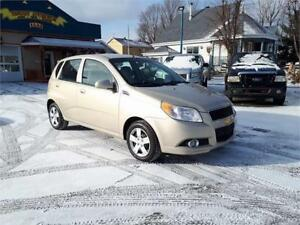 CHEVROLET AVEO 5 2010 HATCHBACK * AUTOMATIQUE * 418-932-6595 !