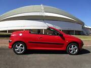 Peugeot 206 CC Convertible Gepps Cross Port Adelaide Area Preview