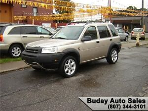 2003 LAND ROVER FREELANDER SE AWD