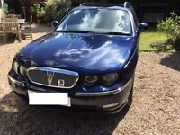 Blue 2004 reg Rover 75 Club CDT Tourer Estate Very Good Condition Low Mileage and 1 Years MOT