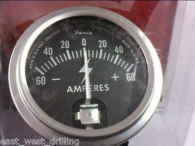 Amp Gauge A-50a60 Drill Rig Air Compressor Hydraulic Valve Motor Mud Pump Rotary