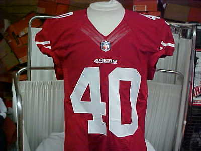 8a4b069c0 2015 NFL San Francisco 49ers Game Worn Team Issued Jersey Player  40 Size 42