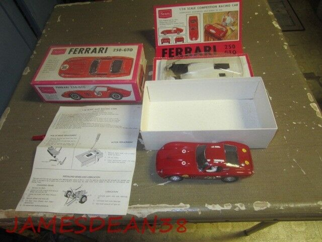SEARS MARX 1/24 FERRARI 250 GTO SLOT CAR IN BOX