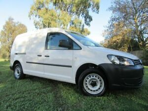 2014 Volkswagen Caddy 2KN MY15 TDI250 BlueMOTION Maxi DSG White 7 Speed Sports Automatic Dual Clutch Dandenong Greater Dandenong Preview