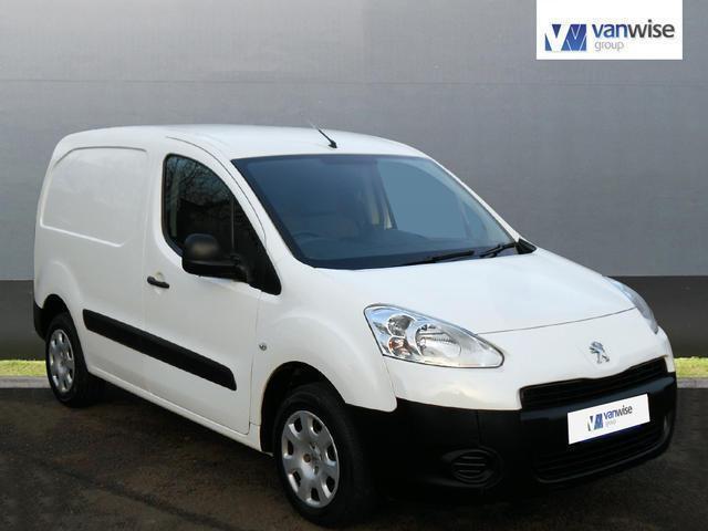 2014 Peugeot Partner HDI SE L1 625 Diesel white Manual