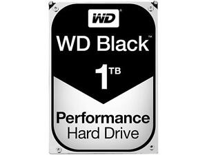 WD Black 1TB Performance Desktop Hard Disk Drive - 7200 RPM