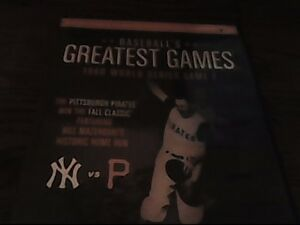 One of only two World Series walkoffs on DVD!!!