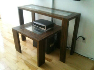 Console et table d'appoint