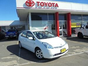2007 Toyota Prius NHW20R MY06 Upgrade Hybrid Glacier White Continuous Variable Hatchback Belmore Canterbury Area Preview