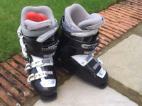 One pair of Ladies Nordica ski boots (shoe size 7) coloured functional black. Buyer collects.