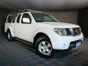 2011 Nissan Navara D40 ST-X King Cab White 6 Speed Manual Utility Maddington Gosnells Area Preview