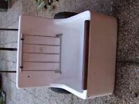 Armitage Shanks white bucket sink