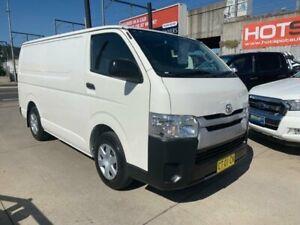 2014 Toyota HiAce TRH201R MY14 LWB White 4 Speed Automatic Van Granville Parramatta Area Preview