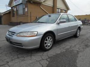 "2002 HONDA Accord SE Sedan 2.3L Automatic ""AS IS"" Special 315Km"