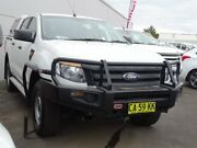 2014 Ford Ranger PX XL Double Cab White 6 Speed Manual Cab Chassis Albion Park Rail Shellharbour Area Preview