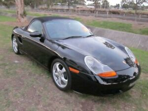 2001 Porsche Boxster 986 Black 5 Speed Manual Roadster Mayfield East Newcastle Area Preview
