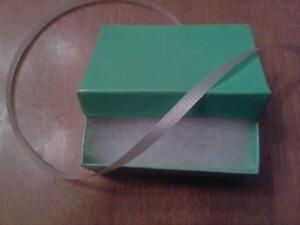 JEWELLERY COTTON FILLED GIFT BOX ( JUST LIKE TIFFANY & CO )